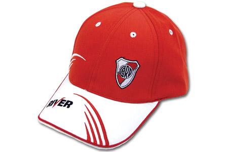 df670439fc6fd Gorra Con Visera Bordada River Plate – Miscellaneous by Caff