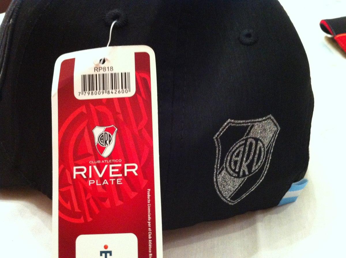 bef5c4f96c4eb Gorras Con Vicera River Plate Glitter bordado – Oficiales ...